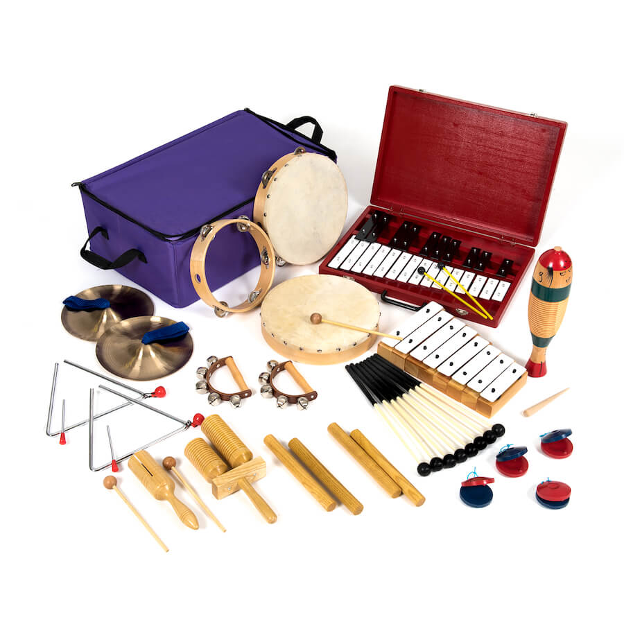 School Music Equipment Instruments From TTS