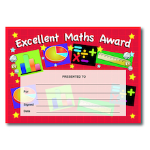 Maths Rewards & Stickers