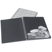 Pisces Textured Card Spiral Sketchbooks A3 220gsm  medium