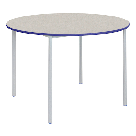Fully Welded Tables Coloured Edge Circular  large
