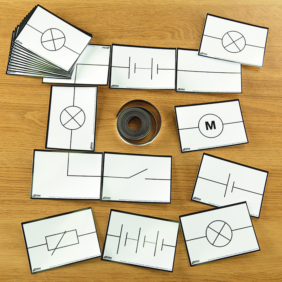 Buy Magnetic Electrical Symbols Cards Tts International