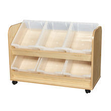 Kubbyclass Easy Access Tray Trolley  medium