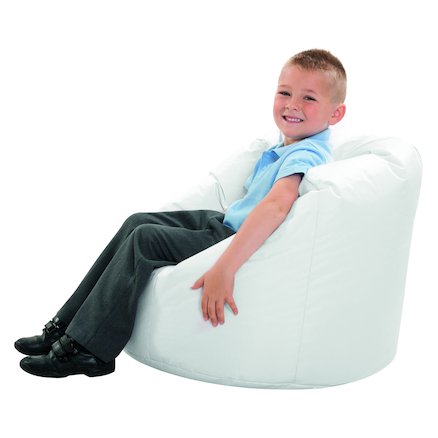 Peachy Buy Sensory Room White Bean Bag Tts International Gmtry Best Dining Table And Chair Ideas Images Gmtryco