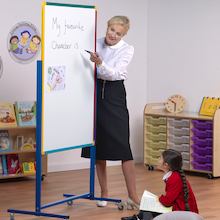 Junior Mobile Double Sided Whiteboard  medium