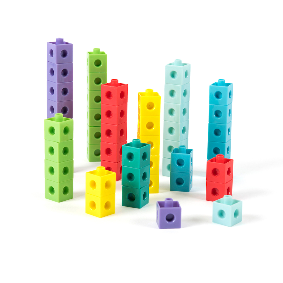 Buy Number Frames Plastic Snap Cubes 1000pcs | TTS International