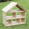Outdoor Wooden Dolls House  small
