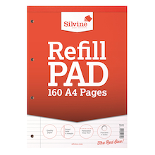 A4 Ruled Refill Notepad  medium