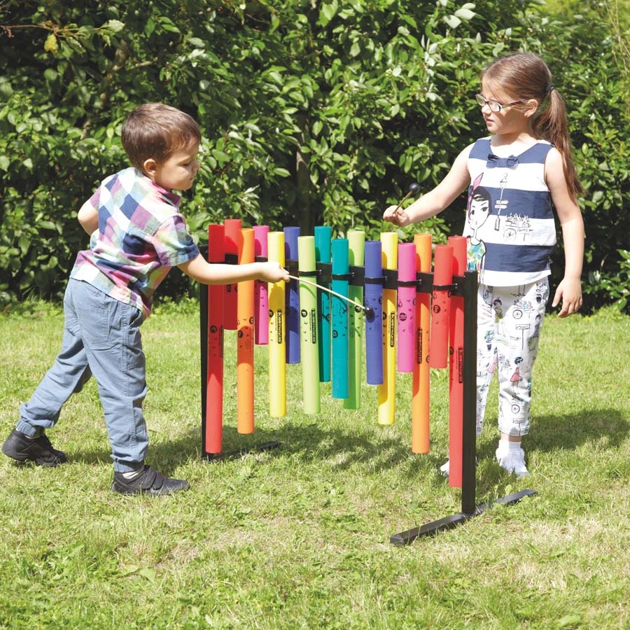 Buy Double Sided Outdoor Boomwhacker Frame Tts International