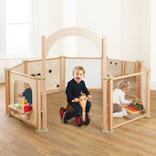 Freestanding Toddler Wooden Panels  medium
