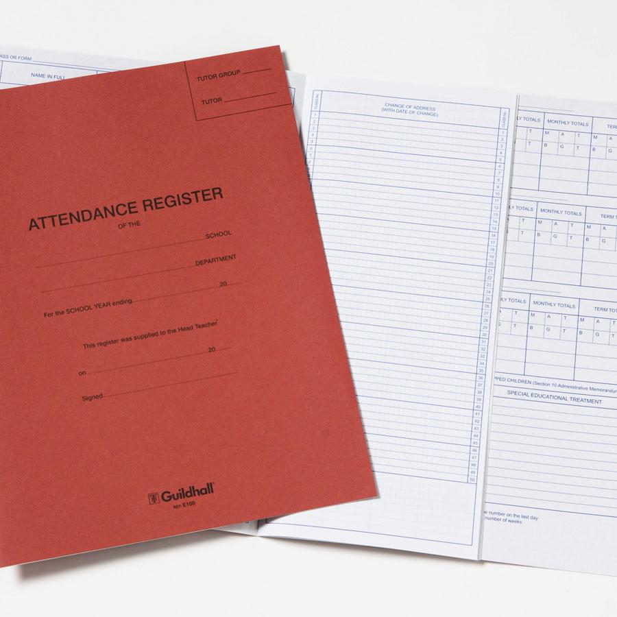buy guildhall school attendance register tts international
