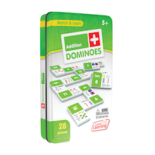 Addition Dominoes - 28pk   medium
