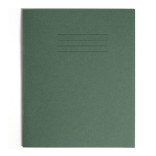 6.25 x 8'' Exercise Books D.Green 32 page 100pk   medium