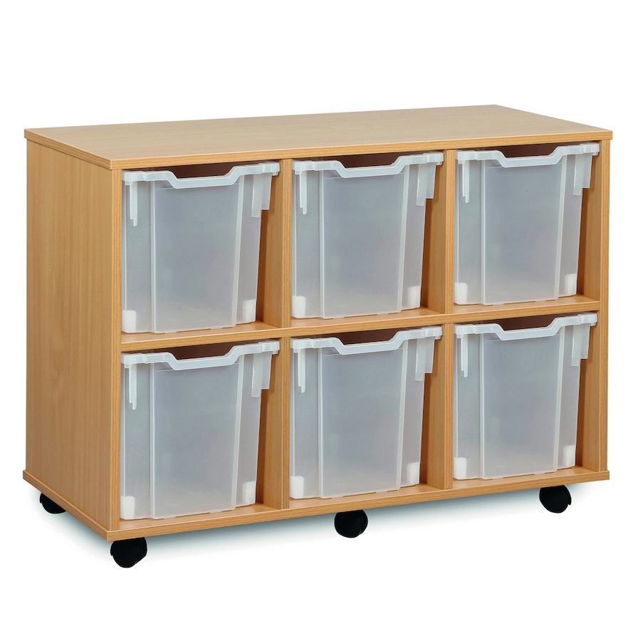 ... Mobile Tray Storage Unit With 6 Jumbo Trays 3x2 small  sc 1 st  TTS & Buy Mobile Tray Storage Unit With 6 Jumbo Trays 3x2 | TTS International