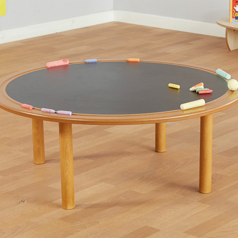 Mini Mark Makers Round Creative Chalkboard Table Large TTS School Resources  Online Shop