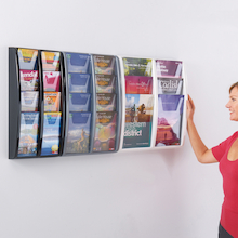 Wall Mounted Leaflet Displays  medium