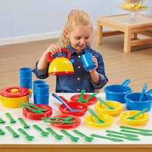 Role Play Dinner Set 57pcs  medium