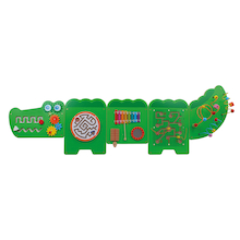 Crocodile Manipulative Fine Motor Wall Panel  medium