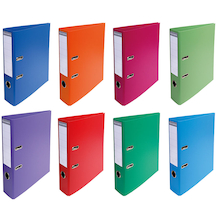 Assorted A4 Lever Arch Folders  medium