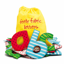 Fabric Patterned Alphabet Letters 26pk  medium