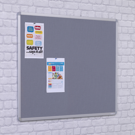 FlameShield Aluminium Frame Noticeboards  large
