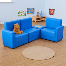 PVC Reading Corner Sofas  medium