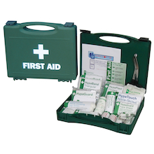 Workplace First Aid Kit in Plastic Case  medium