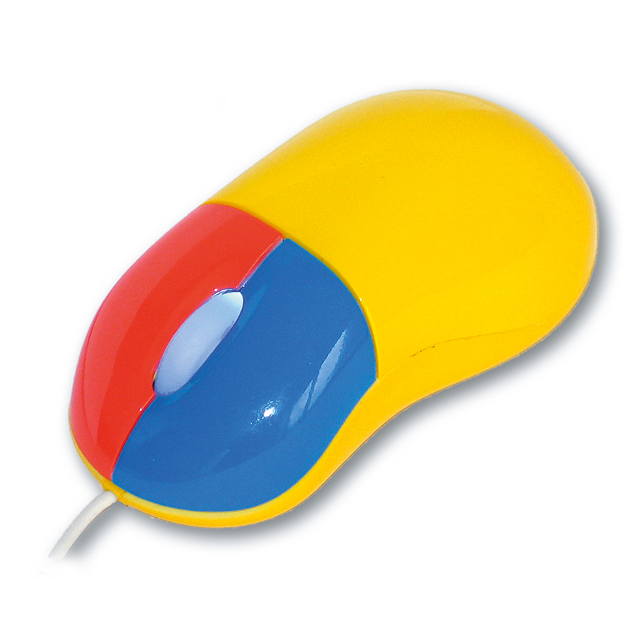 Colour Coded Computer Mouse