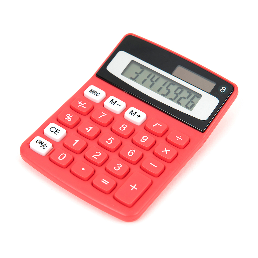 buy big button coloured calculators tts international