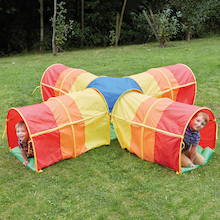 Cross Shaped Pop-Up Rainbow Tunnel  medium