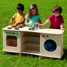 Outdoor Role Play Kitchen Unit  medium