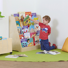 Single Sided Bookstand with Five Shelves  medium