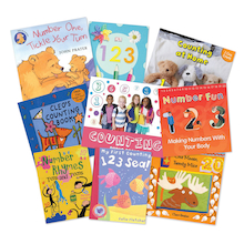 Counting Songs and Rhymes Book Pack 9pk  medium