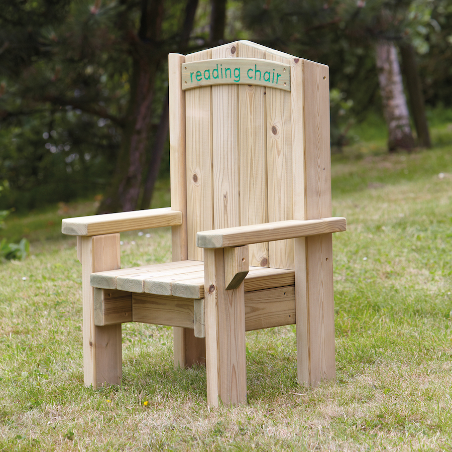 Charmant ... Outdoor Wooden Childrens Reading Chair Small