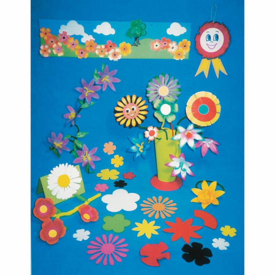 Buy Paper Flower Shapes Assorted 500pk Tts International