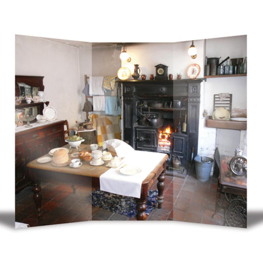Buy Victorian Kitchen Backdrop Tts International