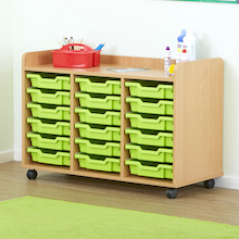 Valencia 18 Tray Storage Unit  medium