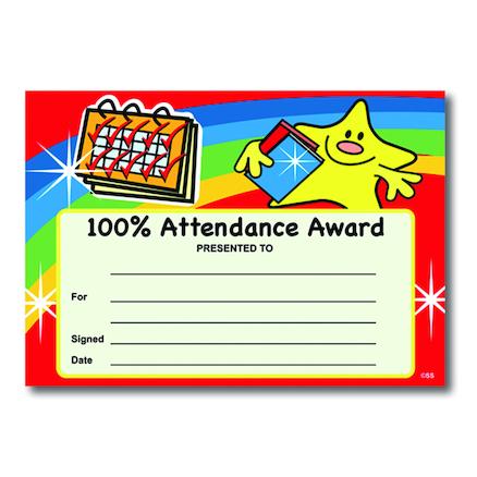 Buy Attendance Certificates   TTS International