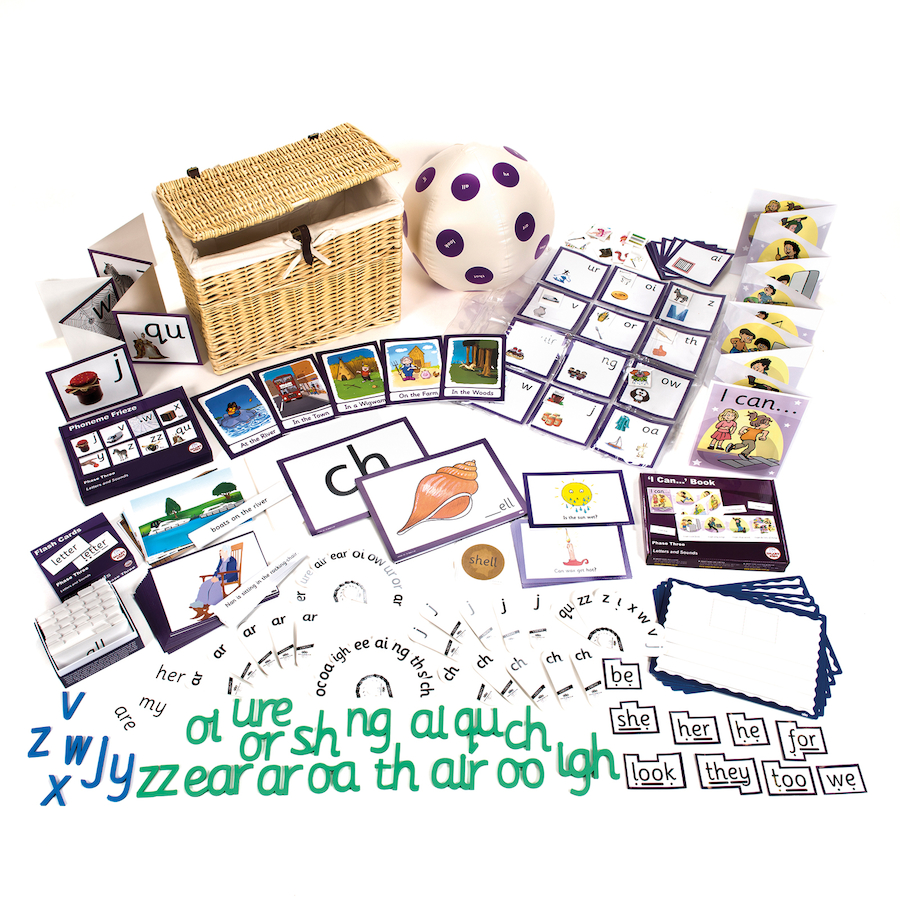 Buy Phonics Phase 3 Kit | TTS International