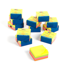 TTS Neon Sticky Notepads  medium