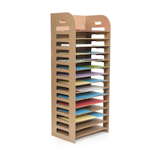 Lightweight Cardboard Drying Rack  medium
