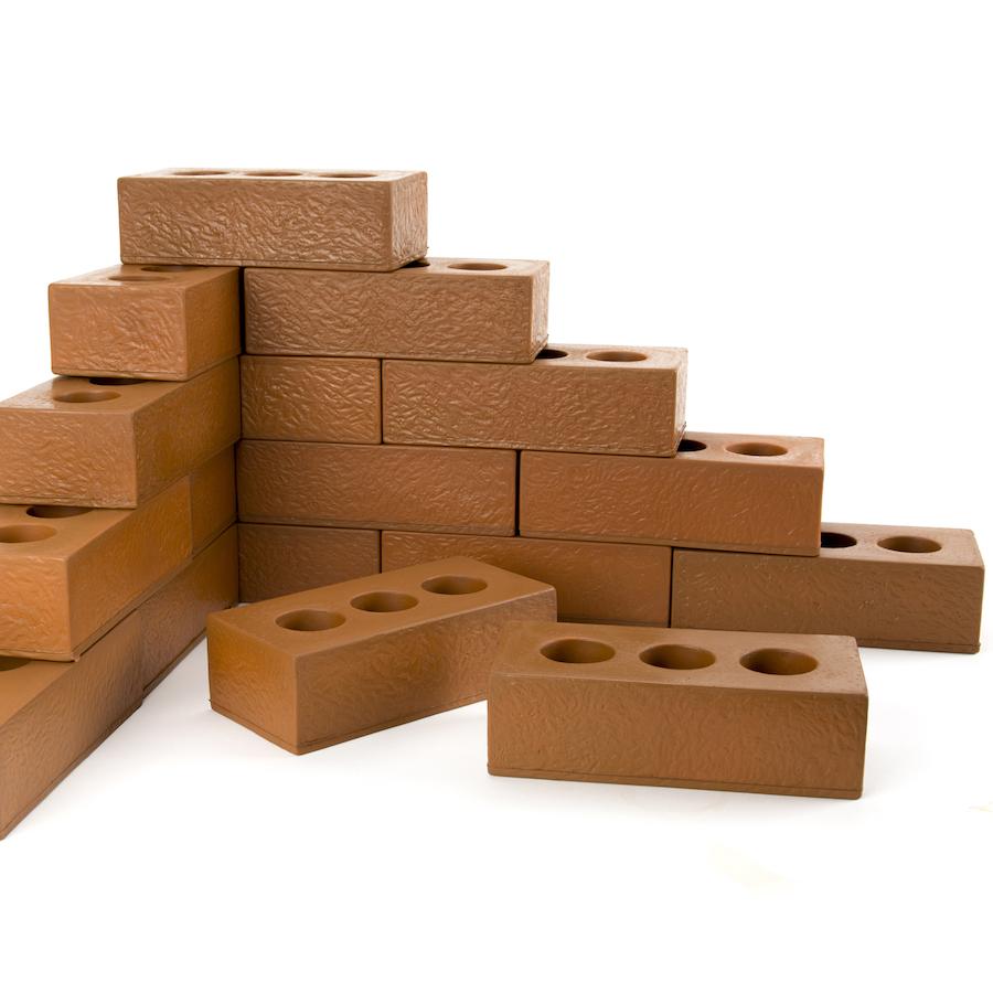 Buy role play foam house building bricks foam bricks tts for Foam home construction