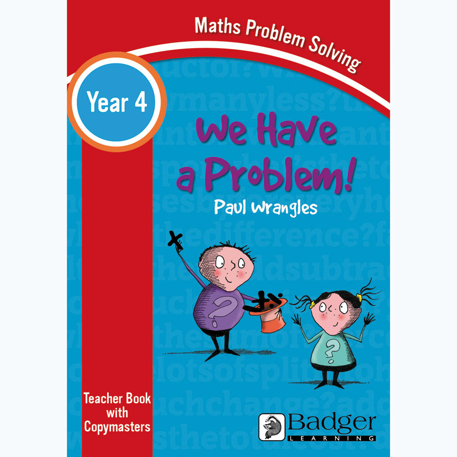 Buy We Have a Problem! Maths Problem Solving Teacher Book and CD KS2 ...