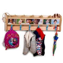 Playscapes Wall Mounted Cloakroom  medium