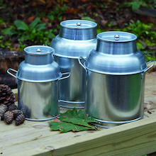 Metal Churns 3pcs  medium