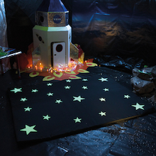 Glow in the Dark Carpet  medium