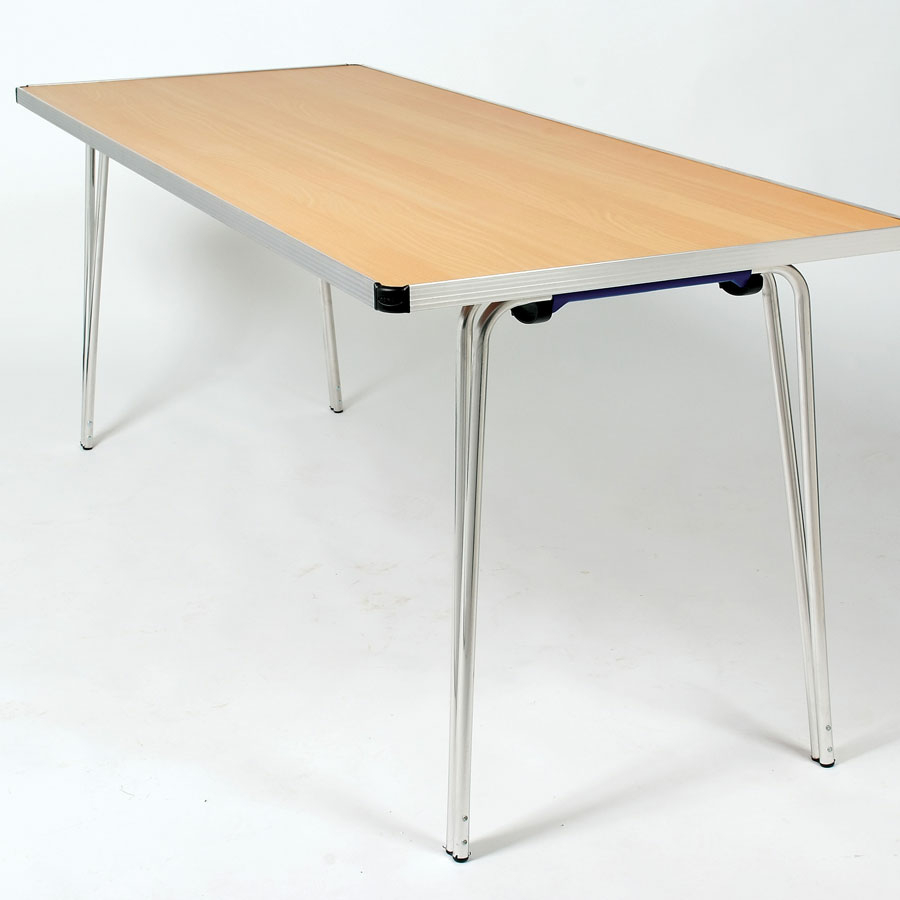 Gopak Contour Rectangular Folding Table W610mm Small