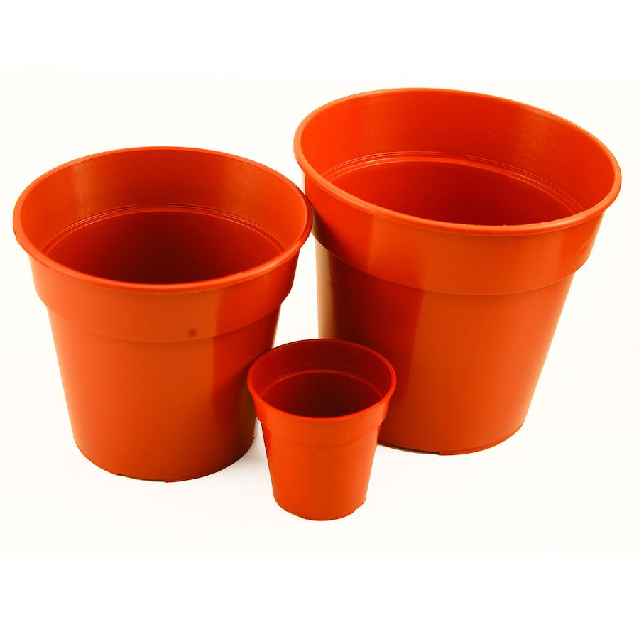 Dura plastic plant pots 50pk