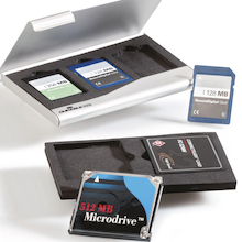 Aluminium Memory Card Case  medium