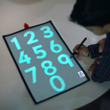 Number Glow Board  medium