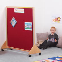 Wooden Framed Floor Standing Display Board  medium